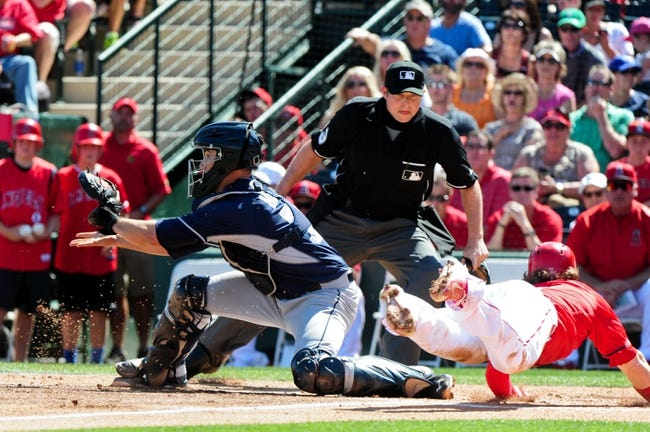Los Angeles Angels vs. San Diego Padres - 5/25/15 MLB Pick, Odds, and Prediction