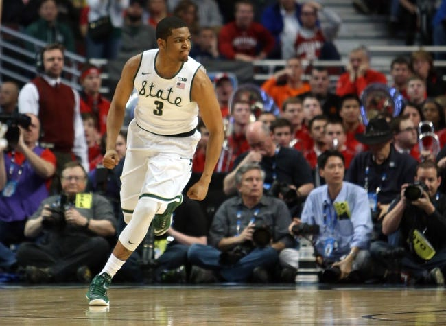 Michigan State vs. Maryland - 3/14/15 Big Ten Semifinal Pick, Odds, and Prediction