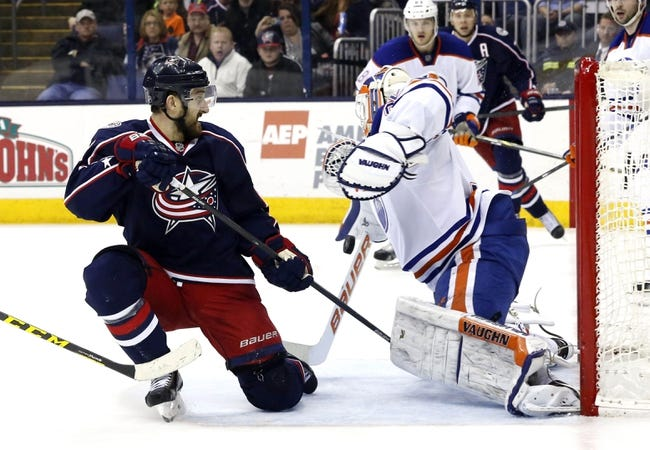Edmonton Oilers vs. Columbus Blue Jackets - 3/18/15 NHL Pick, Odds, and Prediction