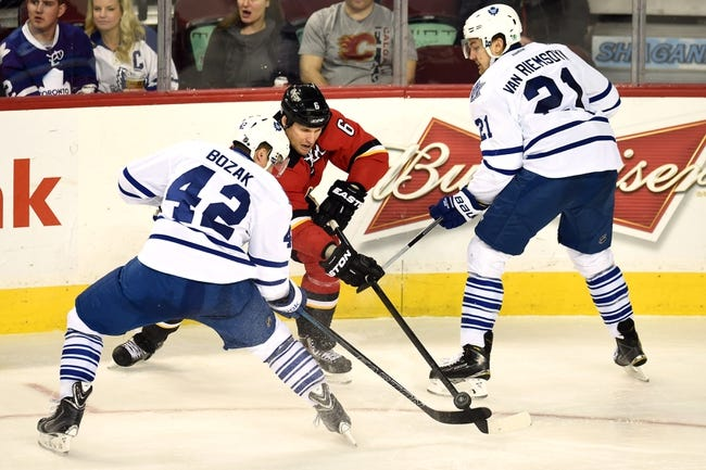 Flames vs. Maple Leafs - 2/9/16 NHL Pick, Odds, and Prediction