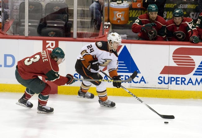 Wild at Ducks - 10/18/15 NHL Pick, Odds, and Prediction
