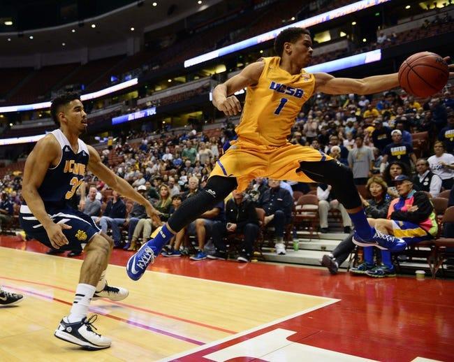 UC-Santa Barbara vs. UC Irvine - 1/12/17 College Basketball Pick, Odds, and Prediction