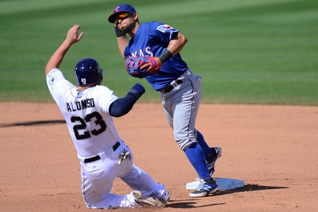 Texas Rangers vs. San Diego Padres - 7/10/15 MLB Pick, Odds, and Prediction