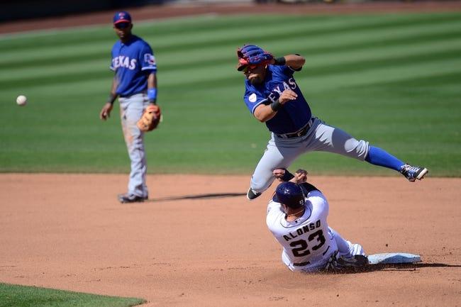 Texas Rangers vs. San Diego Padres - 7/11/15 MLB Pick, Odds, and Prediction