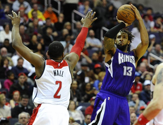 Washington Wizards vs. Sacramento Kings - 12/21/15 NBA Pick, Odds, and Prediction