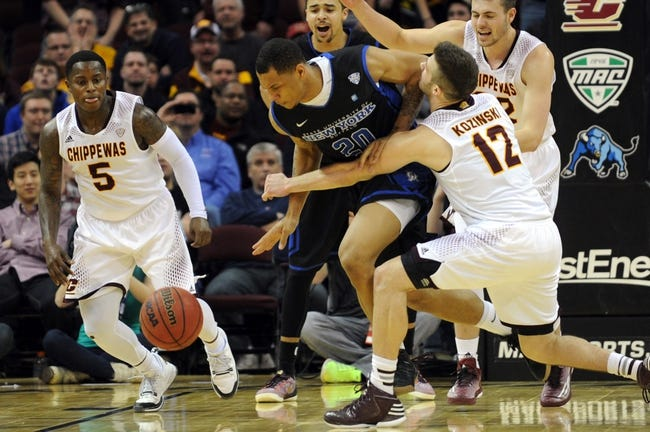 Buffalo  vs. Central Michigan - 1/16/16 College Basketball Pick, Odds, and Prediction
