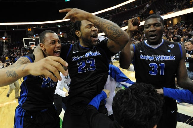 West Virginia vs. Buffalo - NCAA Tournament - 3/20/15 Pick, Odds, and Prediction