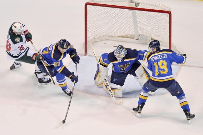 Wild vs. Blues - 3/21/15 NHL Pick, Odds, and Prediction