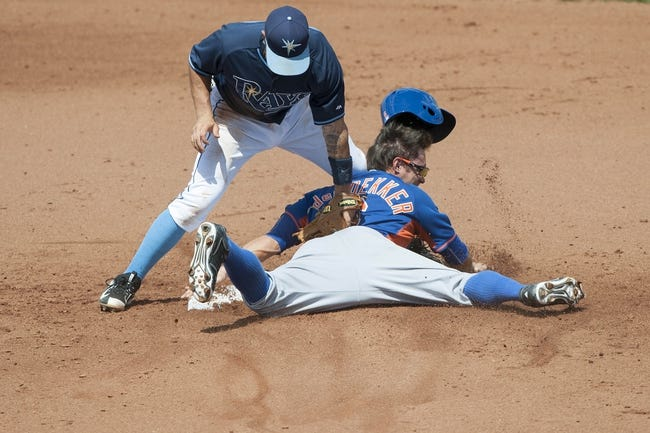 Tampa Bay Rays vs. New York Mets - 8/7/15 MLB Pick, Odds, and Prediction