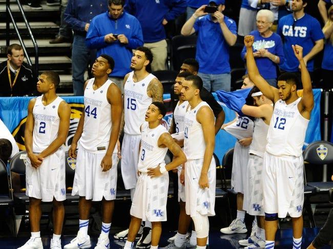 Kentucky Wildcats vs Hampton Pirates NCAA Tournament - 3/19/15 College Basketball Pick, Odds, and Prediction