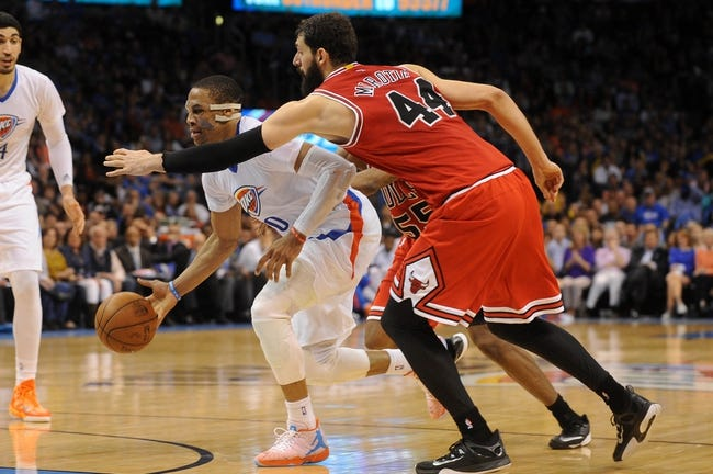 Thunder at Bulls - 11/5/15 NBA Pick, Odds, and Prediction
