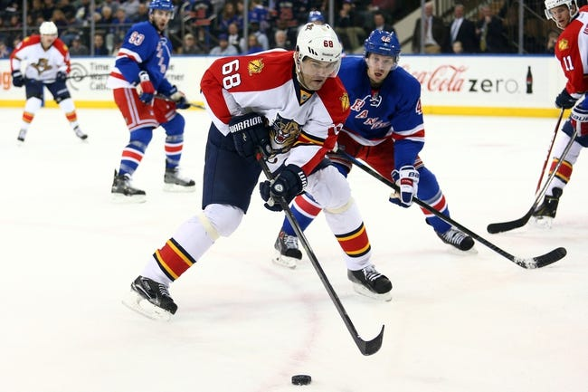 Florida Panthers vs. New York Rangers - 11/21/15 NHL Pick, Odds, and Prediction