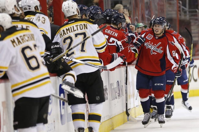 Bruins at Capitals - 4/8/15 NHL Pick, Odds, and Prediction
