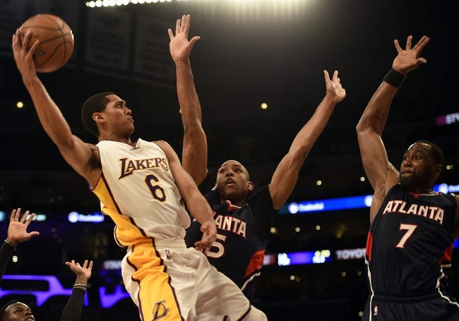 Atlanta Hawks vs. Los Angeles Lakers - 12/4/15 NBA Pick, Odds, and Prediction