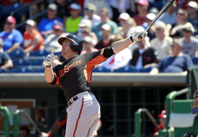 Baltimore Orioles vs. Philadelphia Phillies - 6/15/15 MLB Pick, Odds, and Prediction