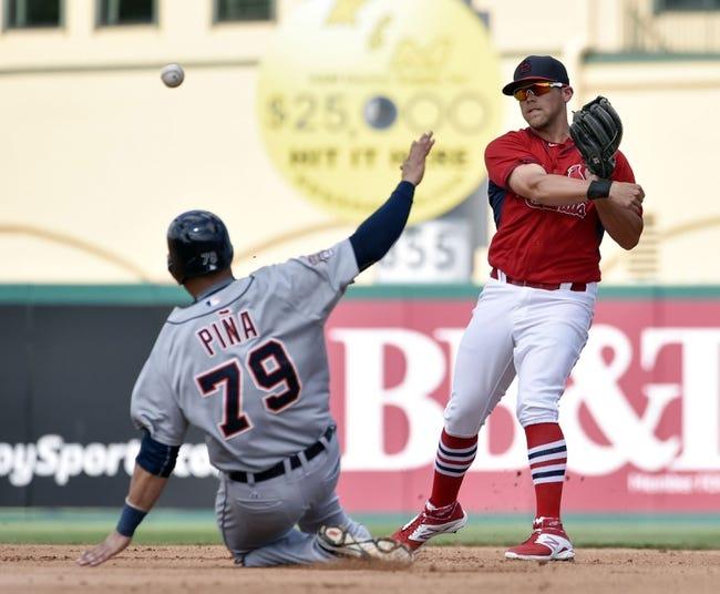 Cardinals vs. Tigers - 5/15/15 MLB Pick, Odds, and Prediction