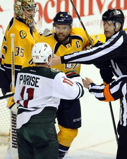 Nashville Predators vs. Minnesota Wild - 4/9/15 NHL Pick, Odds, and Prediction