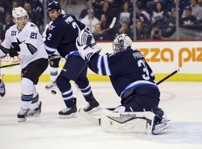 Sharks vs. Jets - 1/2/16 NHL Pick, Odds, and Prediction