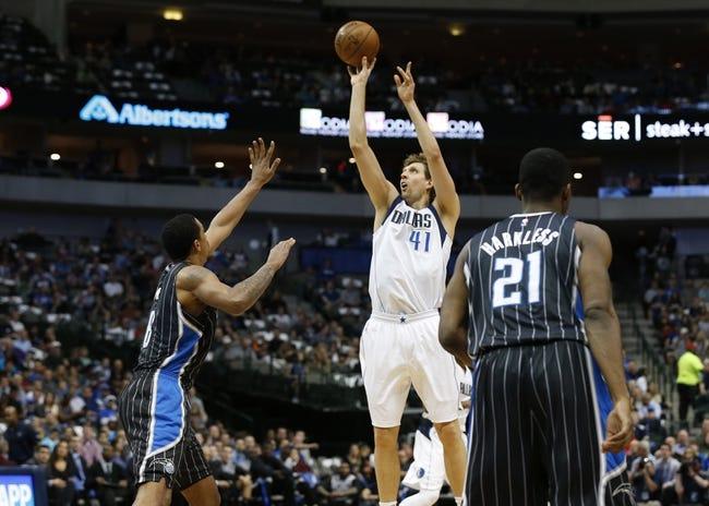 Magic vs. Mavericks - 2/19/16 NBA Pick, Odds, and Prediction