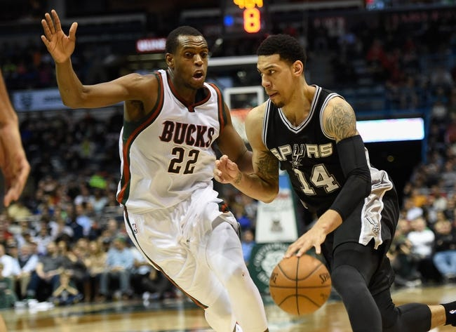 Bucks at Spurs - 12/2/15 NBA Pick, Odds, and Prediction