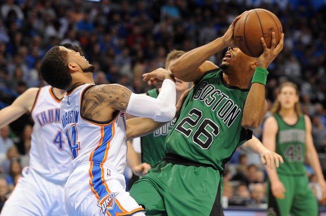 Oklahoma City Thunder vs. Boston Celtics - 11/15/15 NBA Pick, Odds, and Prediction