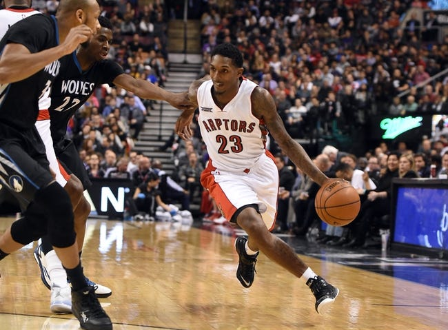 Minnesota Timberwolves vs. Toronto Raptors - 4/1/15 NBA Pick, Odds, and Prediction