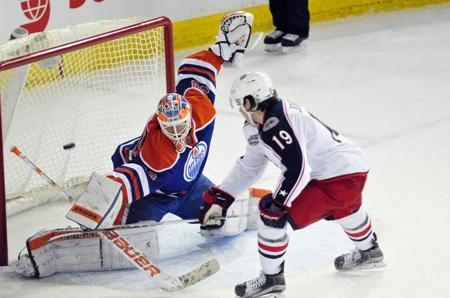 Edmonton Oilers vs. Columbus Blue Jackets - 2/2/16 NHL Pick, Odds, and Prediction