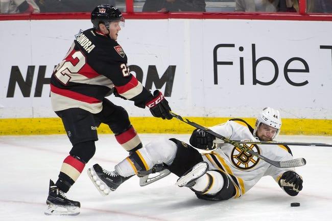 Ottawa Senators vs. Boston Bruins - 12/27/15 NHL Pick, Odds, and Prediction