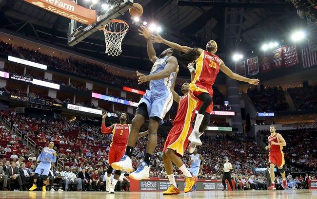 Rockets vs. Nuggets - 10/28/15 NBA Pick, Odds, and Prediction