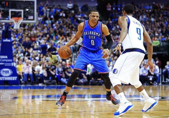 Thunder vs. Mavericks - 4/1/15 NBA Pick, Odds, and Prediction