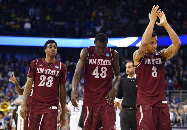 New Mexico State Aggies vs. New Mexico Lobos - 11/15/15 College Basketball Pick, Odds, and Prediction