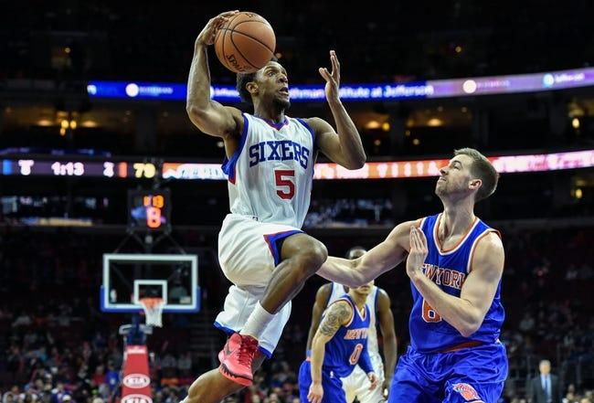 Knicks vs. 76ers - 4/5/15 NBA Pick, Odds, and Prediction