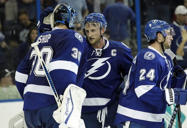 Detroit Red Wings at Tampa Bay Lightning - 4/16/15 NHL Pick, Odds, and Prediction