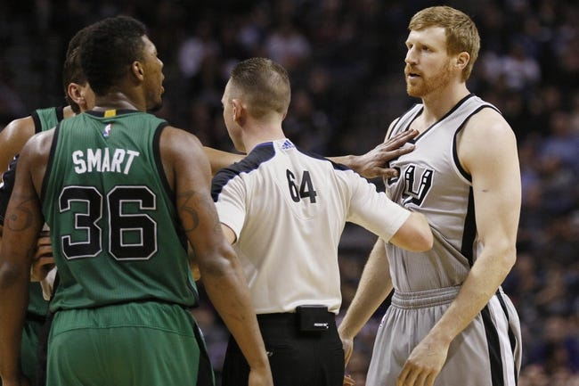 Spurs at Celtics - 11/1/15 NBA Pick, Odds, and Prediction