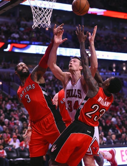 Toronto Raptors vs. Chicago Bulls - 3/25/15 NBA Pick, Odds, and Prediction
