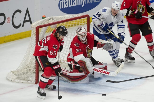 Toronto Maple Leafs vs. Ottawa Senators - 3/28/15 NHL Pick, Odds, and Prediction