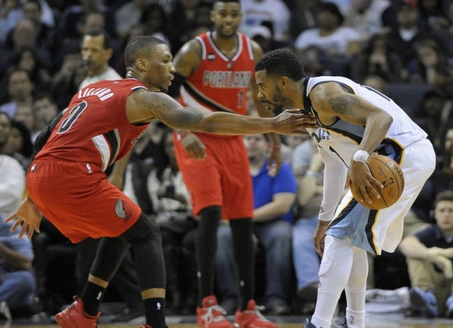 Memphis Grizzlies vs. Portland Trail Blazers - 4/19/15 NBA Pick, Odds, and Prediction