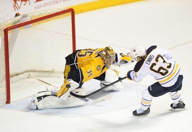 Buffalo Sabres vs. Nashville Predators - 11/25/15 NHL Pick, Odds, and Prediction