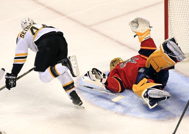 NHL | Florida Panthers (35-26-15) at Boston Bruins (38-25-13)