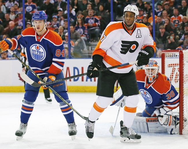 Edmonton Oilers vs. Philadelphia Flyers - 11/3/15 NHL Pick, Odds, and Prediction