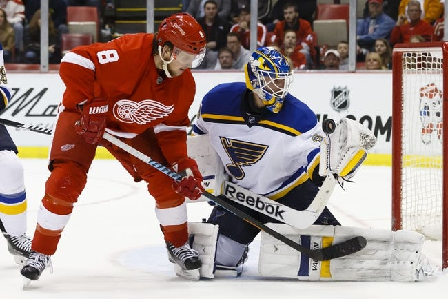 St. Louis Blues vs. Detroit Red Wings - 11/21/15 NHL Pick, Odds, and Prediction