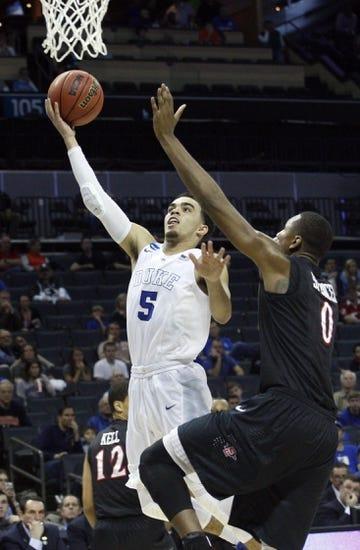 Duke Blue Devils vs. Utah Utes - NCAA Tournament - 3/27/15 Pick, Odds, and Prediction
