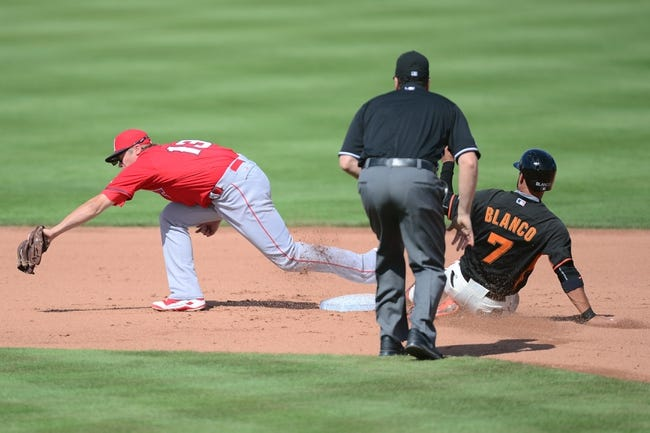 Giants vs. Angels - 5/1/15 MLB Pick, Odds, and Prediction