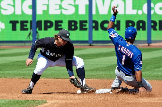 Mariners vs. Rangers - 4/17/15 MLB Pick, Odds, and Prediction