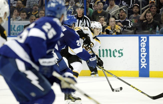 NHL | Boston Bruins (41-26-13) at Tampa Bay Lightning (49-24-8)