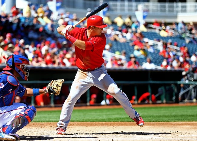 Texas Rangers vs. Los Angeles Angels - 4/13/15 MLB Pick, Odds, and Prediction