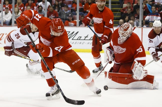Detroit Red Wings vs. Carolina Hurricanes - 4/7/15 NHL Pick, Odds, and Prediction