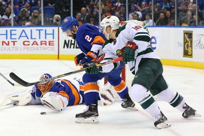 Islanders vs. Wild - 2/2/16 NHL Pick, Odds, and Prediction