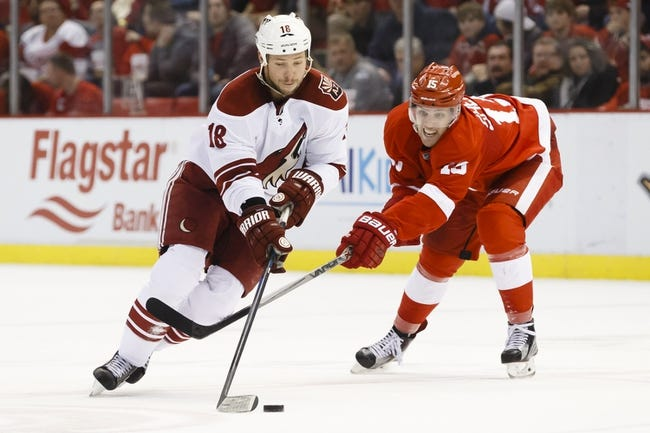 Detroit Red Wings vs. Arizona Coyotes - 12/3/15 NHL Pick, Odds, and Prediction