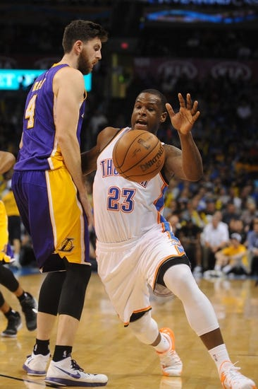 Oklahoma City Thunder vs. Los Angeles Lakers - 12/19/15 NBA Pick, Odds, and Prediction